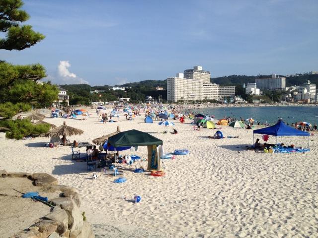 和歌山のビーチ